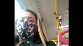 Colombiana tiene superorgasmo en un bus